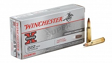 * Патроны Winchester Soft Point .222 Rem.