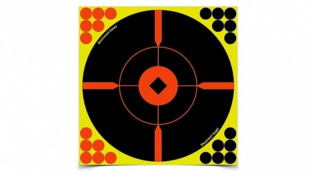 "Мишень BIRCHWOOD CASEY ""Shoot N C 8"""" Bull's-eye """"BMW"""" Target"""