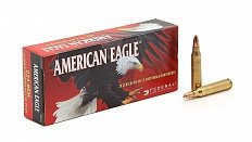 * Патроны Federal American Eagle Jacked HP .223 Rem.
